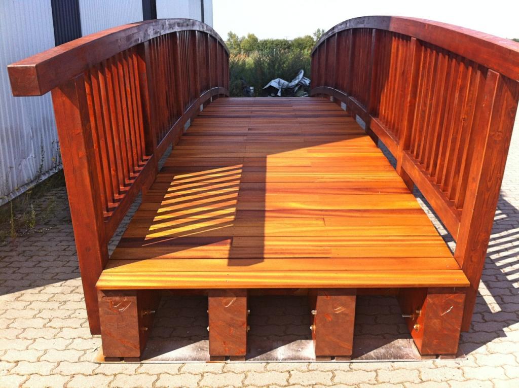 kładki mosty drewniane