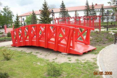 Kładka dla pieszych w Gryficach