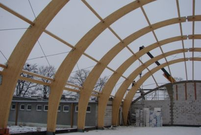 Sala gimnastyczna w Wierzchucinie Królewskim