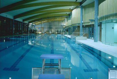 Kryty basen w Warszawie