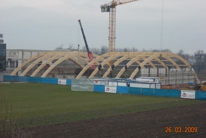 Hala tenisowa we Wrocławiu