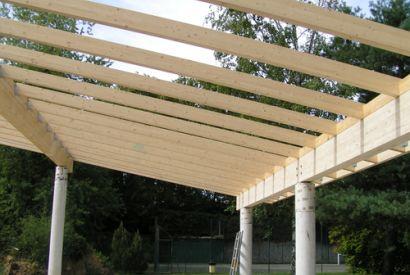 Stołówka przedszkola w Fontainebleau