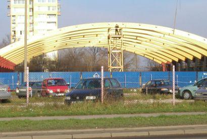 Hala do tenisa w Warszawie