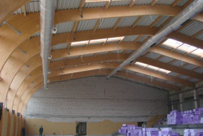 Sala Widowiskowo-Sportowa w Dębnie Lubuskim